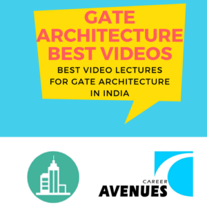 Best Video Lectures For GATE Architecture (AR) Exam Preparation In India