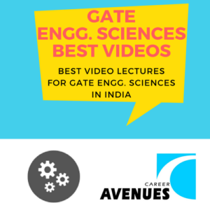 Best Video Lectures For GATE Engineering Sciences (XE) Exam Preparation In India