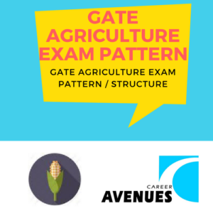 GATE Agriculture (AG) Exam/Test/Paper Pattern or Structure