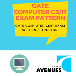 GATE Computer Science (CS IT) Exam/Test/Paper Pattern or Structure