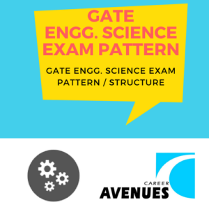GATE Engineering Sciences (XE) Exam/Test/Paper Pattern or Structure