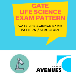 GATE Life Sciences (XL) Exam/Test/Paper Pattern or Structure