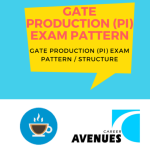GATE Production & Industrial (PI) Exam/Test/Paper Pattern or Structure