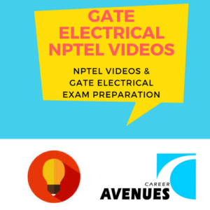 NPTEL Videos And GATE Electrical Engineering (EE) Exam Preparation