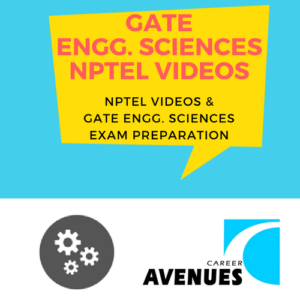 NPTEL Videos And GATE Engineering Sciences (XE) Exam Preparation