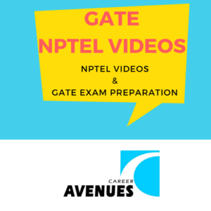 NPTEL Videos And GATE Exam Preparation, Aerospace (AE), Agriculture (AG), Architecture (AR), Biotechnology (BT), Chemical (CH), Chemistry (CY), Civil (CE), Computer Science (CS/IT), Electrical Engineering (EE), Electronics Engineering (EC), Engineering Sciences (XE), Geology & Geophysics (GG), Instrumentation (IN), Mathematics (MA), Mechanical (ME), Metallurgy (MT), Physics (PH), Production & Industrial (PI), Life Sciences (XL), Textile Fibres (TF)
