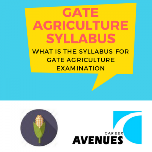 What Is The Syllabus For GATE 2018 Agriculture (AG) Examination