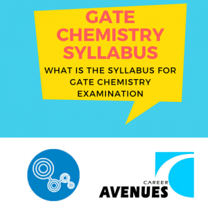 What Is The Syllabus For GATE Chemistry (CY) Examination