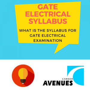 What Is The Syllabus For GATE Electrical (EE) Examination