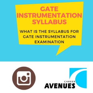 What Is The Syllabus For GATE Instrumentation (IN) Examination