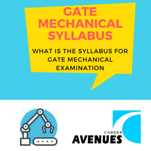 What Is The Syllabus For GATE Mechanical (ME) Examination