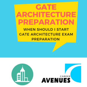 When Should I Start Preparation For GATE Architecture (AR)