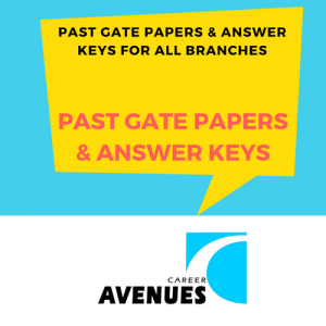 Past GATE Question Papers and Solutions Answers with Explanations