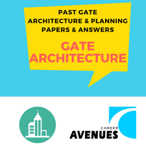 Past GATE Architecture and Planning Papers and Answers
